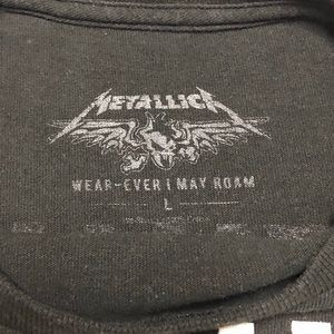 Shirts - Metallica World Wired Tour 2017 Black T-Shirt